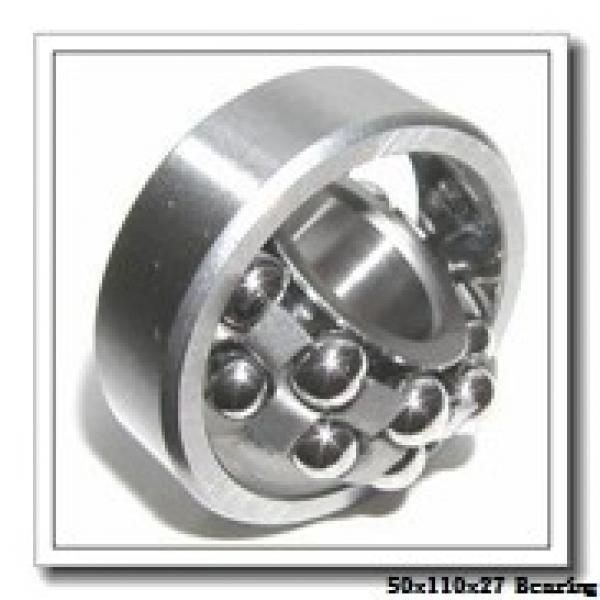 50 mm x 110 mm x 27 mm  NACHI 7310 angular contact ball bearings #1 image