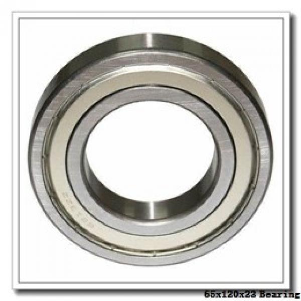 65 mm x 120 mm x 23 mm  NKE 6213-2Z-NR deep groove ball bearings #1 image