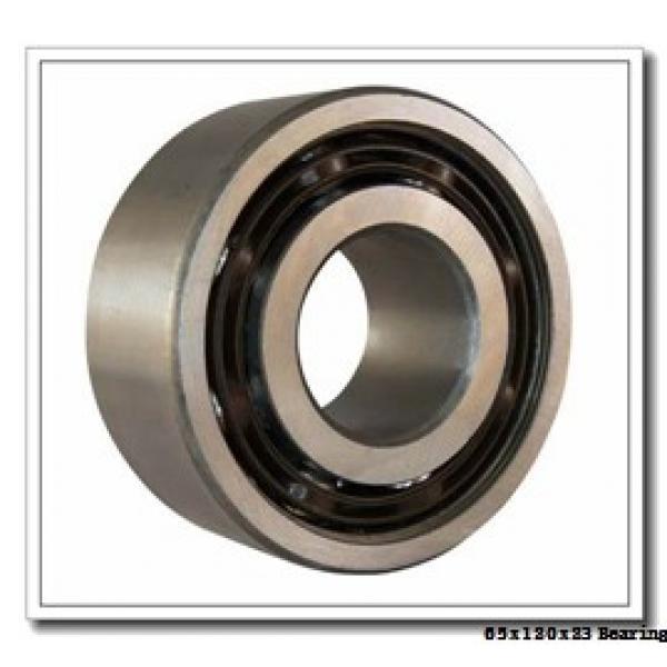 65 mm x 120 mm x 23 mm  NKE 7213-BE-TVP angular contact ball bearings #2 image