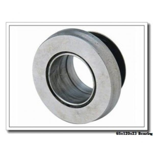 65 mm x 120 mm x 23 mm  NKE NJ213-E-M6 cylindrical roller bearings #2 image