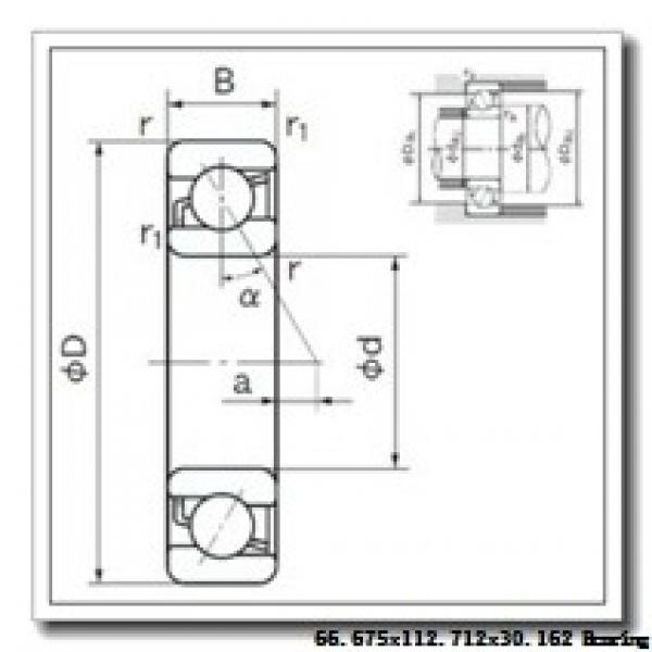 66,675 mm x 112,712 mm x 30,162 mm  Timken 39590/39521 tapered roller bearings #1 image
