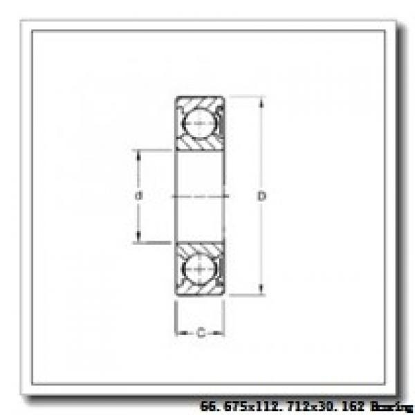 66,675 mm x 112,712 mm x 30,162 mm  Timken 39590/39521 tapered roller bearings #2 image