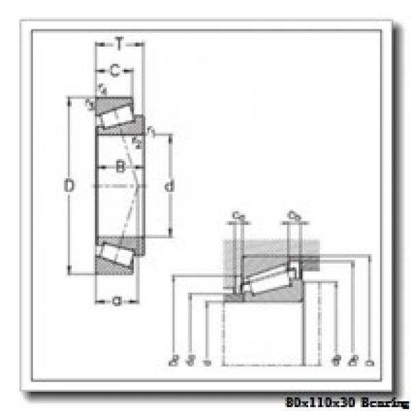80 mm x 110 mm x 30 mm  Loyal NA4916 needle roller bearings #2 image
