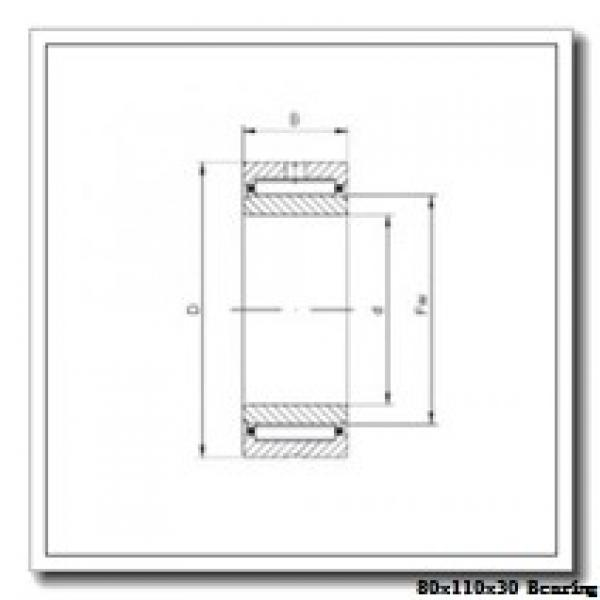 80 mm x 110 mm x 30 mm  IKO NAF 8011030 needle roller bearings #1 image