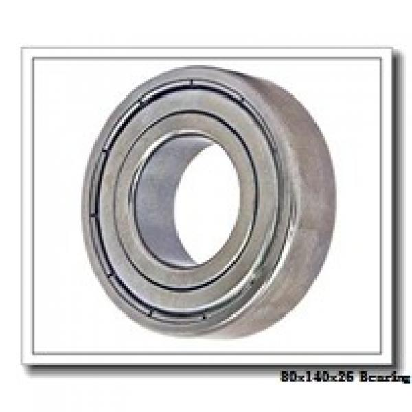 80 mm x 140 mm x 26 mm  ISO 20216 spherical roller bearings #1 image