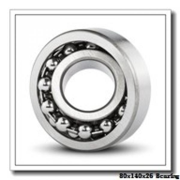 80 mm x 140 mm x 26 mm  NACHI NUP 216 cylindrical roller bearings #2 image