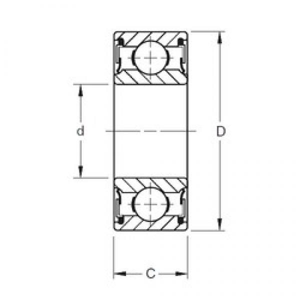 120 mm x 180 mm x 28 mm  Timken 9124PP deep groove ball bearings #3 image