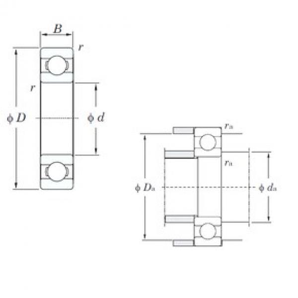 65 mm x 120 mm x 23 mm  KOYO 6213 deep groove ball bearings #3 image