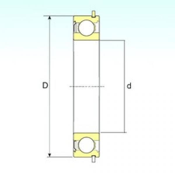 50 mm x 110 mm x 27 mm  ISB 6310-ZNR deep groove ball bearings #3 image