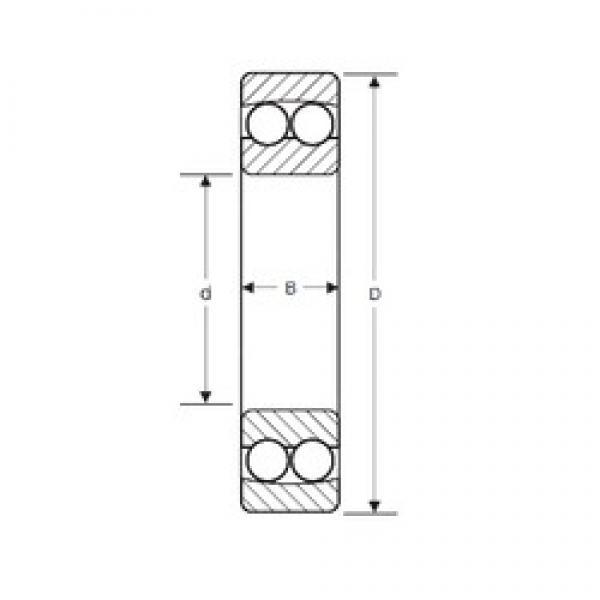 65 mm x 120 mm x 23 mm  SIGMA 1213 self aligning ball bearings #3 image