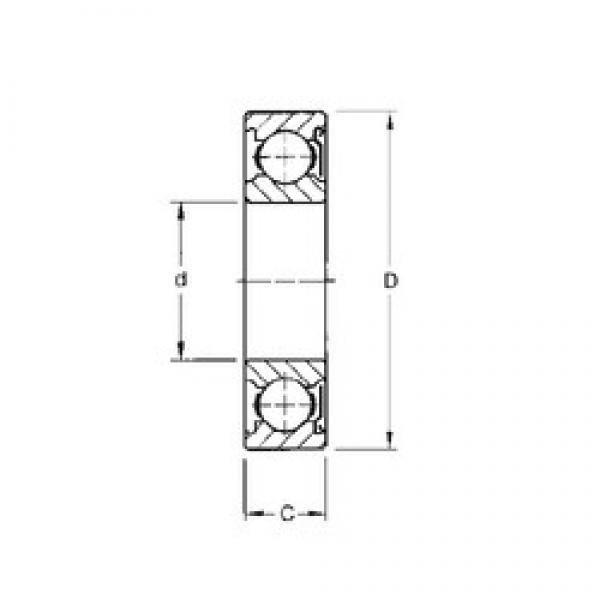 80 mm x 140 mm x 26 mm  Timken 216KD deep groove ball bearings #3 image