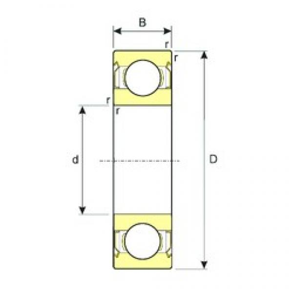 45 mm x 58 mm x 7 mm  ISB SS 61809-2RS deep groove ball bearings #3 image