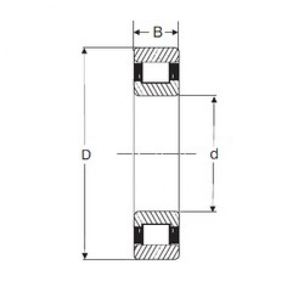 50 mm x 110 mm x 27 mm  SIGMA N 310 cylindrical roller bearings #3 image