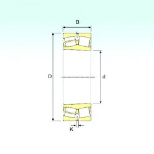190 mm x 340 mm x 92 mm  ISB 22238 K spherical roller bearings #3 image