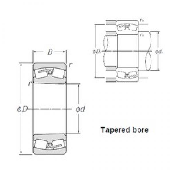 530 mm x 780 mm x 185 mm  NTN 230/530BK spherical roller bearings #3 image