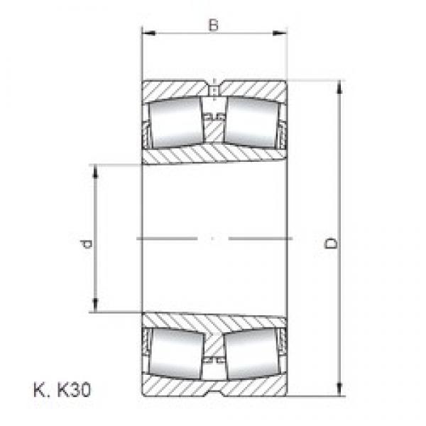 530 mm x 780 mm x 185 mm  ISO 230/530 KW33 spherical roller bearings #3 image