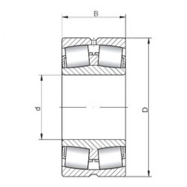 190 mm x 340 mm x 92 mm  Loyal 22238 CW33 spherical roller bearings #3 image