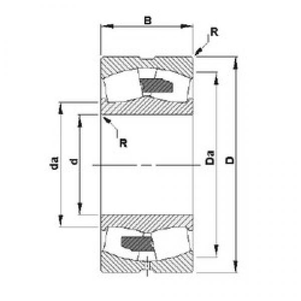 530 mm x 780 mm x 185 mm  Timken 230/530YMB spherical roller bearings #3 image