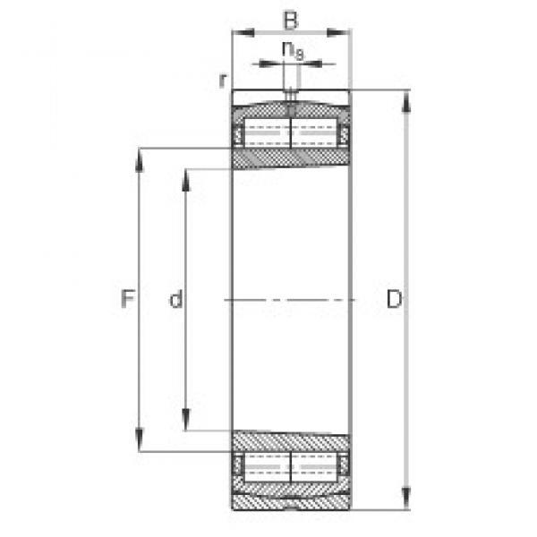 530 mm x 780 mm x 185 mm  FAG Z-565681.ZL-K-C5 cylindrical roller bearings #3 image