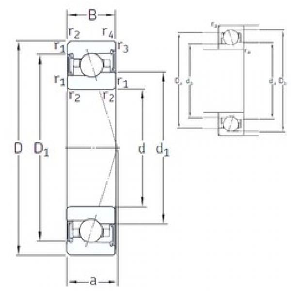 120 mm x 180 mm x 28 mm  SNFA VEX 120 /S 7CE3 angular contact ball bearings #3 image