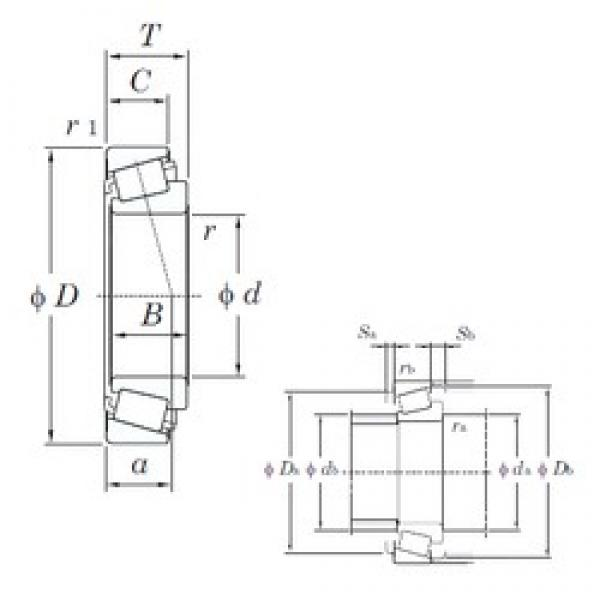 30 mm x 72 mm x 19 mm  KOYO HC TRA0607 tapered roller bearings #3 image