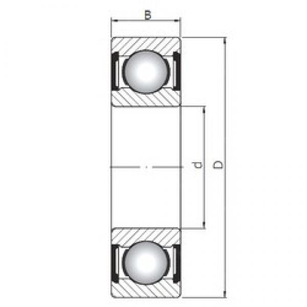 15 mm x 42 mm x 13 mm  Loyal 6302 ZZ deep groove ball bearings #3 image