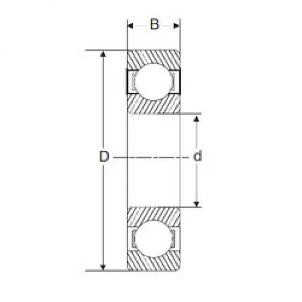 120 mm x 180 mm x 28 mm  SIGMA 6024 deep groove ball bearings #3 image