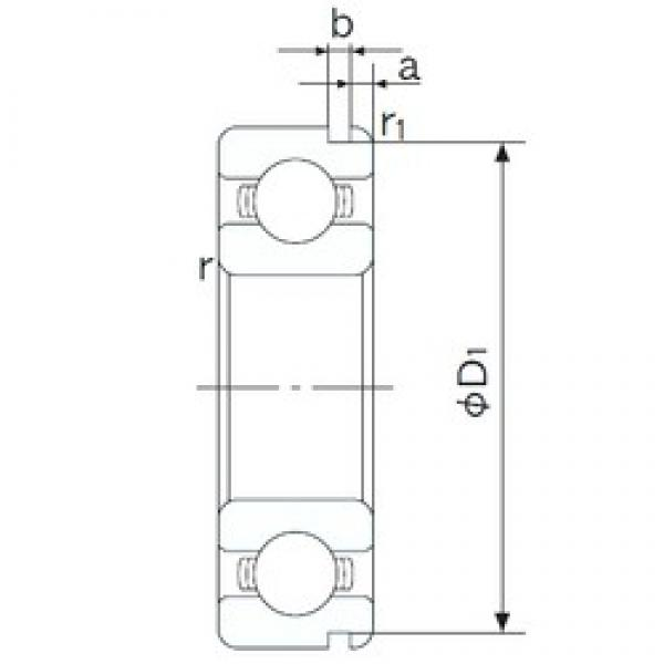 120 mm x 180 mm x 28 mm  NACHI 6024N deep groove ball bearings #3 image