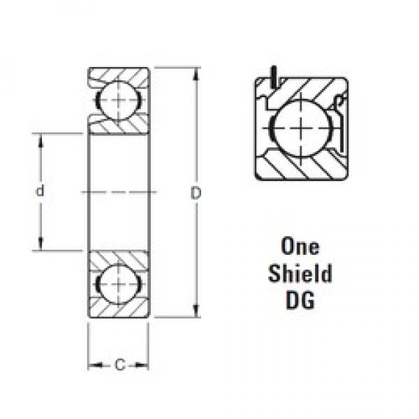 50 mm x 110 mm x 27 mm  Timken 310WDG deep groove ball bearings #3 image