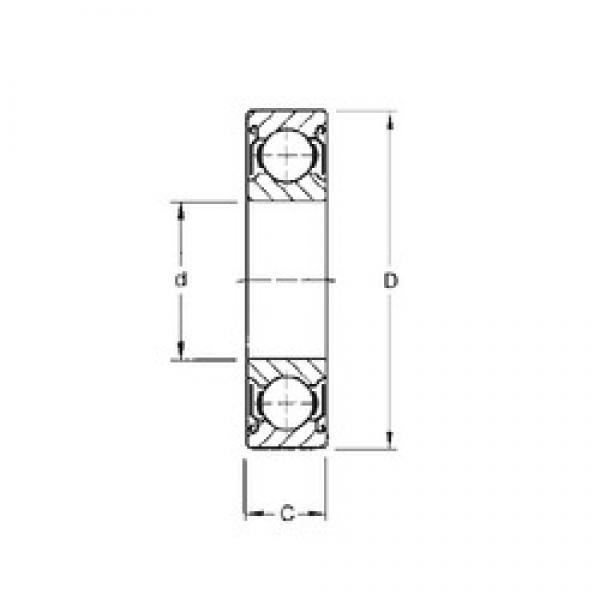 45 mm x 58 mm x 7 mm  CYSD 6809-ZZ deep groove ball bearings #3 image