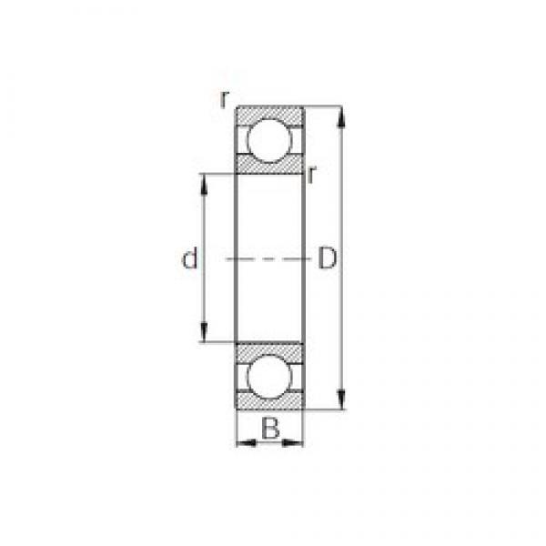 45 mm x 58 mm x 7 mm  CYSD 6809 deep groove ball bearings #3 image
