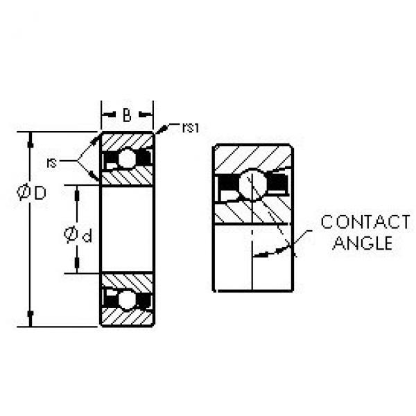 AST H7024AC/HQ1 angular contact ball bearings #3 image