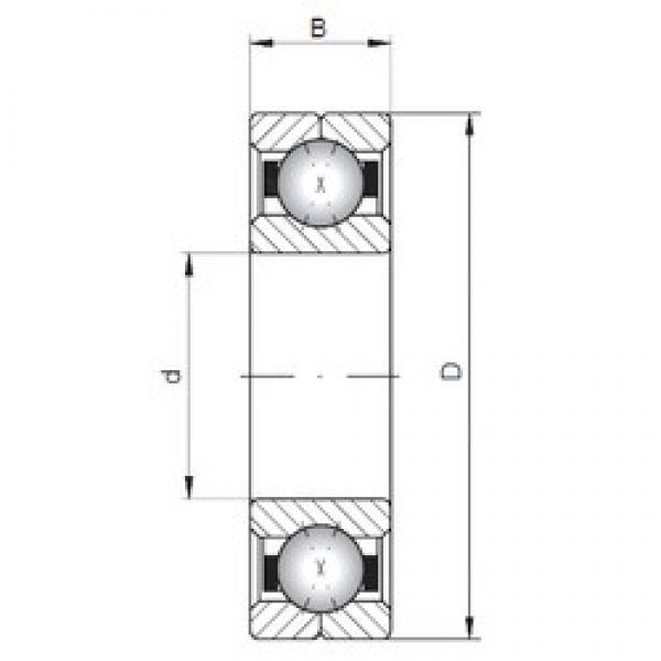 Loyal Q216 angular contact ball bearings #3 image