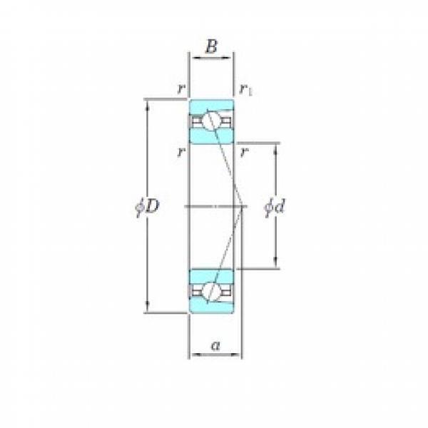 120 mm x 180 mm x 28 mm  KOYO 3NCHAR024C angular contact ball bearings #3 image