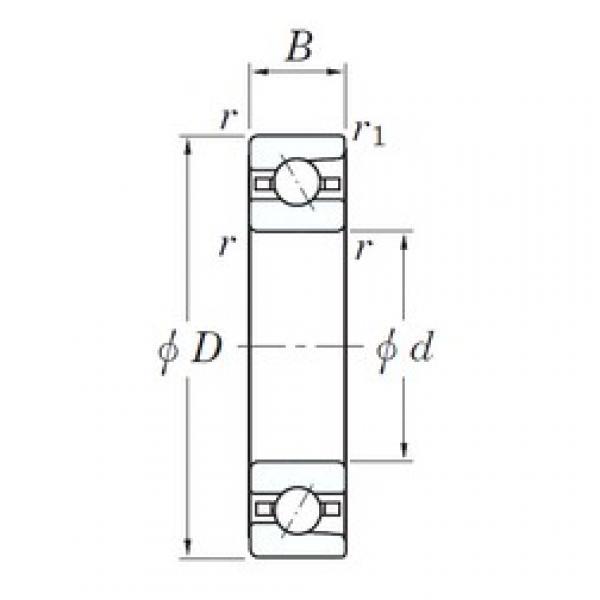 120 mm x 180 mm x 28 mm  KOYO 3NC HAR024C FT angular contact ball bearings #3 image