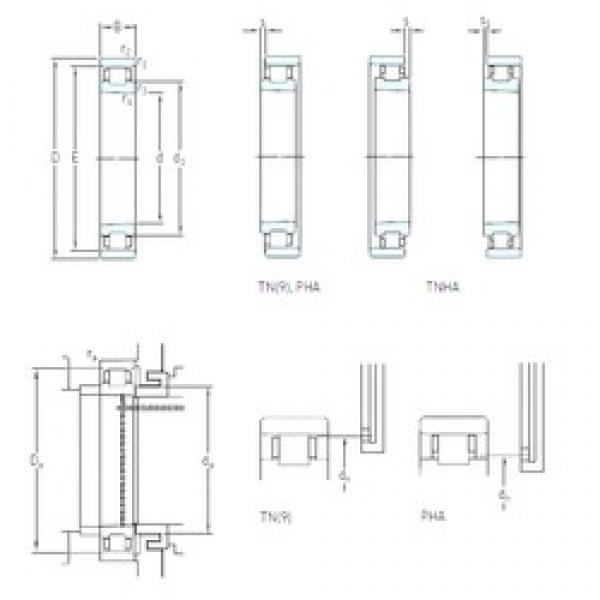 120 mm x 180 mm x 28 mm  SKF N 1024 KTNHA/HC5SP cylindrical roller bearings #3 image