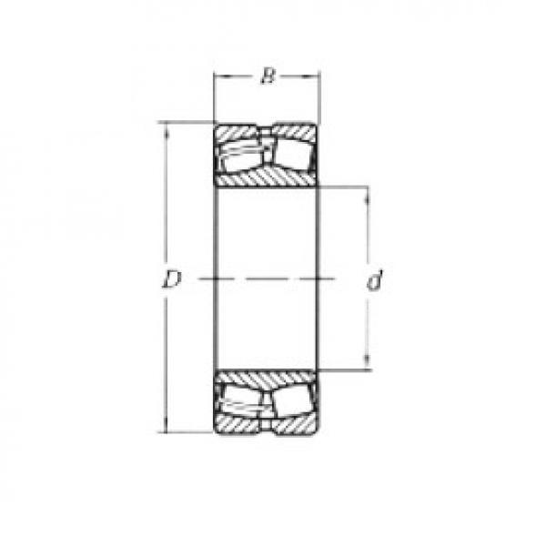 190 mm x 340 mm x 92 mm  Loyal 22238MW33 spherical roller bearings #3 image