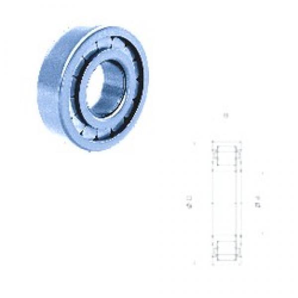 65 mm x 120 mm x 23 mm  Fersa NUP213FPNR/C3 cylindrical roller bearings #3 image