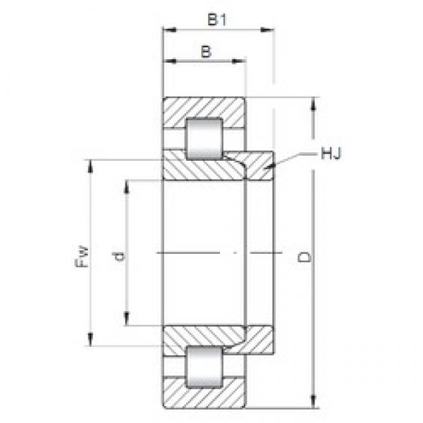 50 mm x 110 mm x 27 mm  Loyal NH310 E cylindrical roller bearings #3 image
