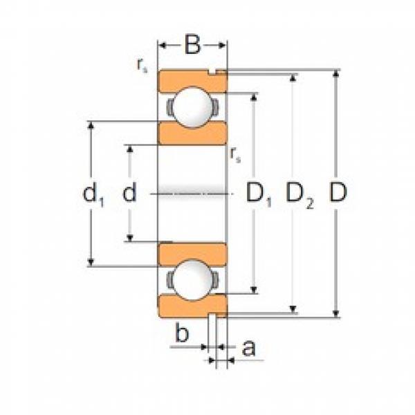 65 mm x 120 mm x 23 mm  Loyal 6213N deep groove ball bearings #3 image