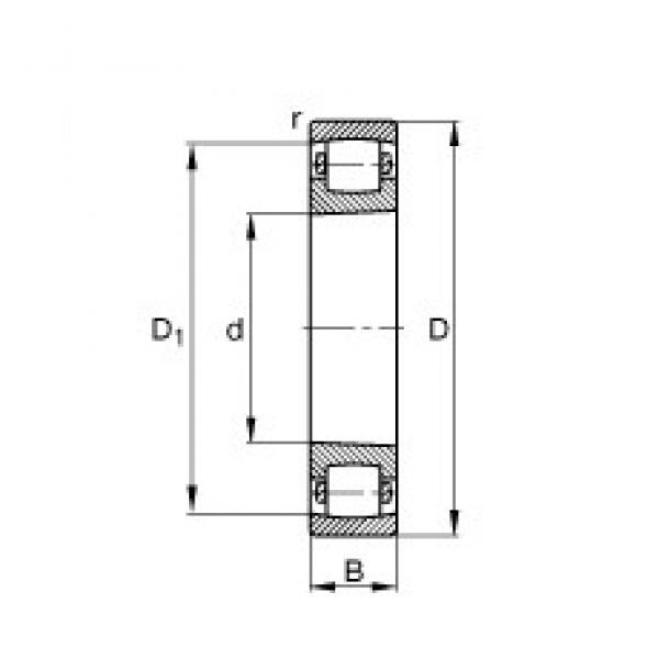 65 mm x 120 mm x 23 mm  FAG 20213-K-TVP-C3 spherical roller bearings #3 image