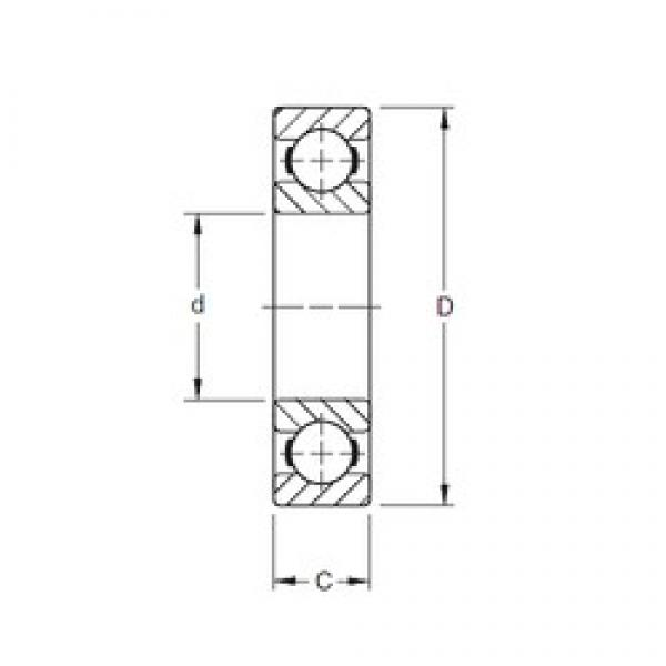 120 mm x 180 mm x 28 mm  Timken 9124K deep groove ball bearings #3 image