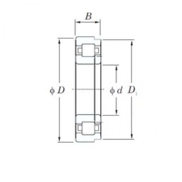 190 mm x 340 mm x 92 mm  KOYO NUP2238 cylindrical roller bearings #3 image