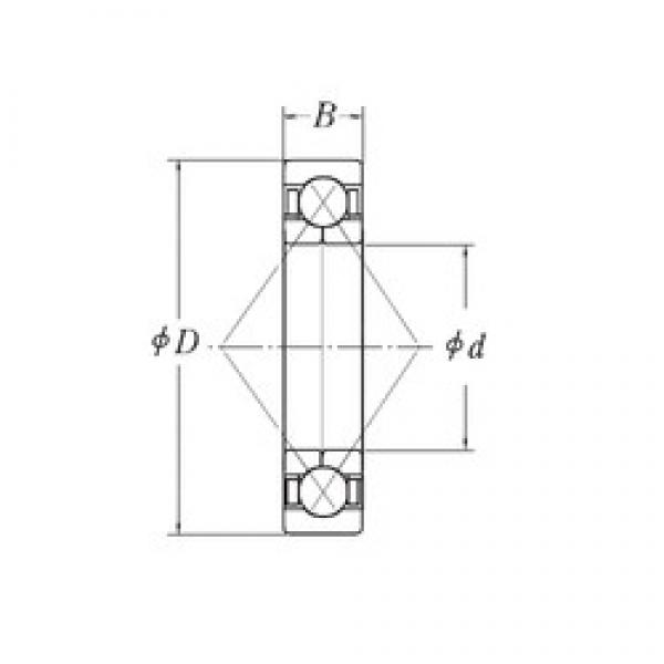 170 mm x 310 mm x 52 mm  CYSD QJ234 angular contact ball bearings #3 image