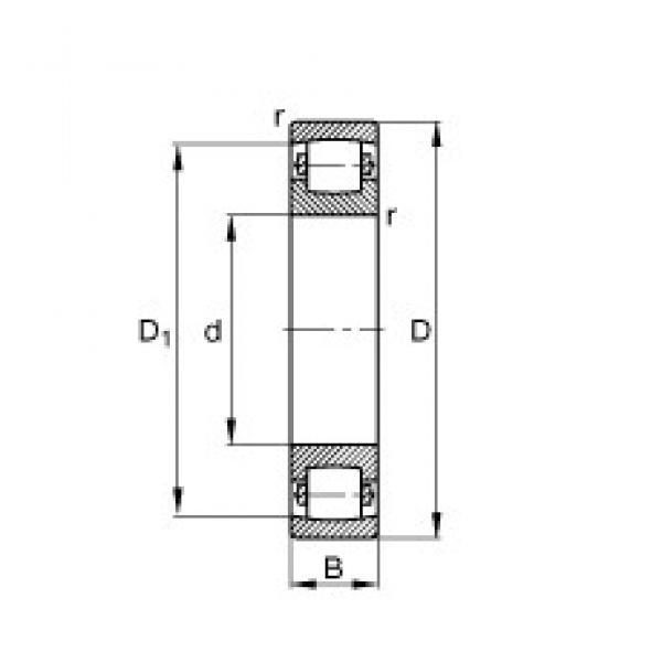 65 mm x 120 mm x 23 mm  FAG 20213-TVP spherical roller bearings #3 image